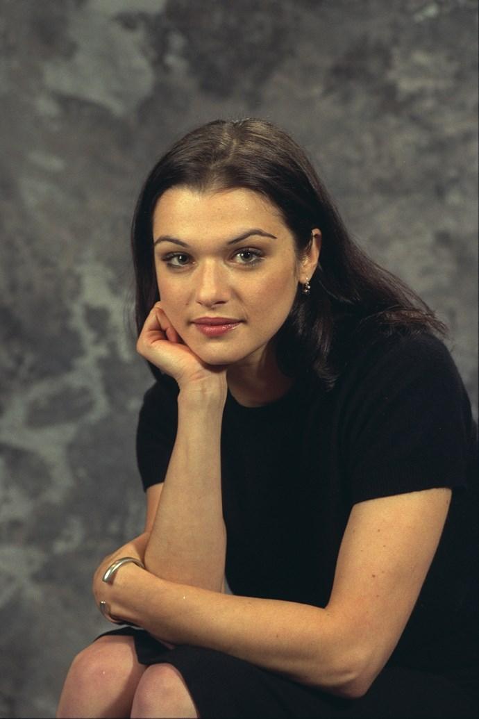 A young Rachel Weisz.