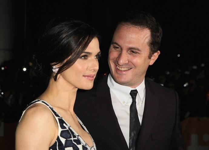 Rachel and Darren Aronofsky at the *Black Swan* premiere in 2010/