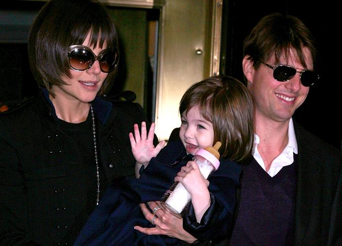 "**Katie Holmes let her then-three-and-a-half-year-old drink with a baby bottle.**  She was once spotted on the set of her movie *The Romantics* bottle feeding her [daughter, Suri](https://www.nowtolove.co.nz/celebrity/celeb-news/katie-holmes-will-always-put-daughter-suri-before-boyfriend-jamie-foxx-35924|target=""_blank""), when she was three and a half years old — that's way past the recommended age to wean kids off the bottle."