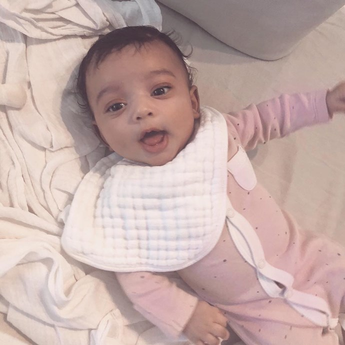 "**Chicago West**   [Kim Kardashian](https://www.nowtolove.co.nz/tags/kim-kardashian|target=""_blank"") welcomed her baby girl, [Chicago](https://www.nowtolove.co.nz/parenting/parenting-news/kim-kardashian-shares-first-photo-of-her-and-kanyes-child-chicago-west-36692
