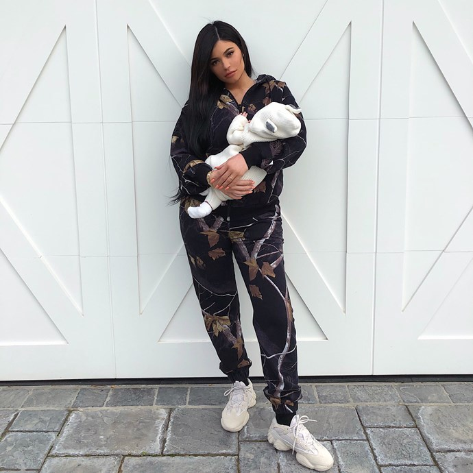 "**Stormi Webster**  After keeping her entire pregnancy a secret, Kylie Jenner and partner Travis Scott were beyond excited to announce the birth of their baby girl, Stormi, on February 1. Kylie shared her news in true Kardashian fashion, to her [Instagram followers](https://instagram.com/p/BeycUmgFTWb/?utm_source=ig_embed|target=""_blank"")."