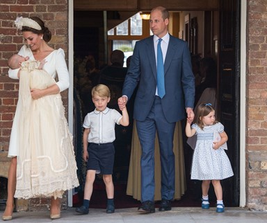 All the best moments from Prince Louis' christening
