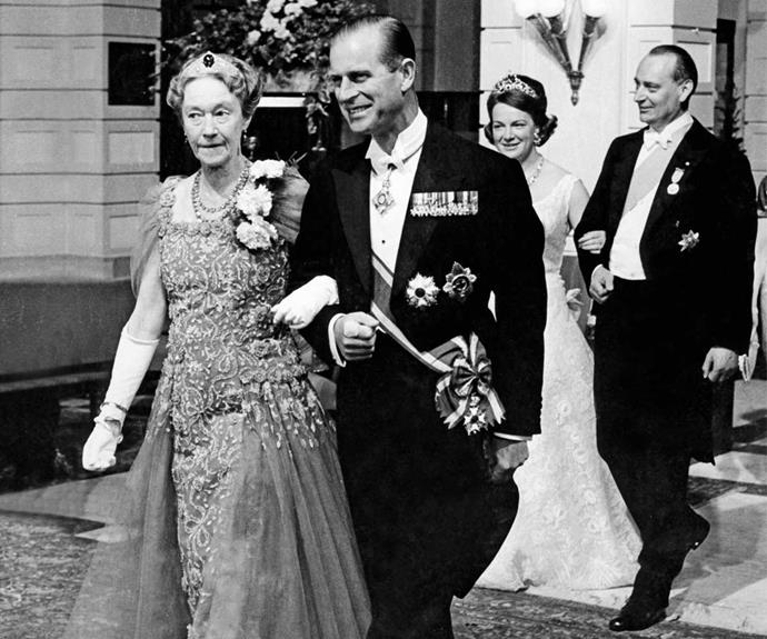 Prince Philip with his late mother Princess Alice of Battenburg