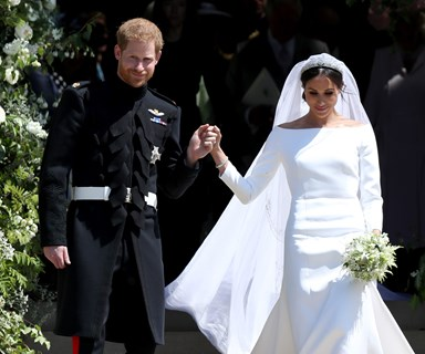 Harry and Meghan sent out the most picture perfect thank you notes to fans after their Royal wedding