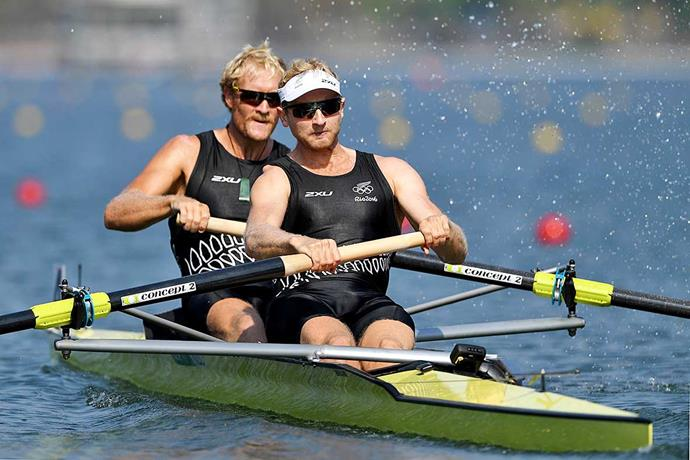 Hamish and Eric Murray in Rio in 2016.