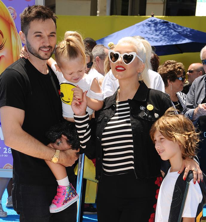 "**Christina Aguilera surrounds her son with images of female nudes.**  ""I think it's important that he sees mommy not be ashamed for her sexuality. I mean, he's two. We're art collectors, there are a lot of female nudes around the house. Max will be growing up in a house where it's just the norm,"" she once said."