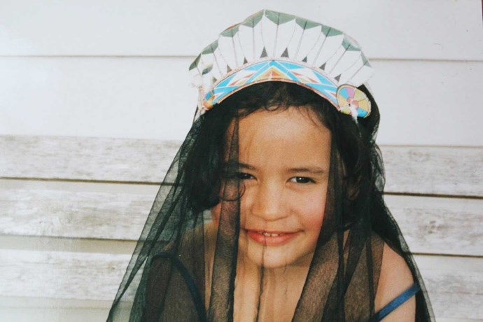 From a young age, Awa would dress up and tell her stories.