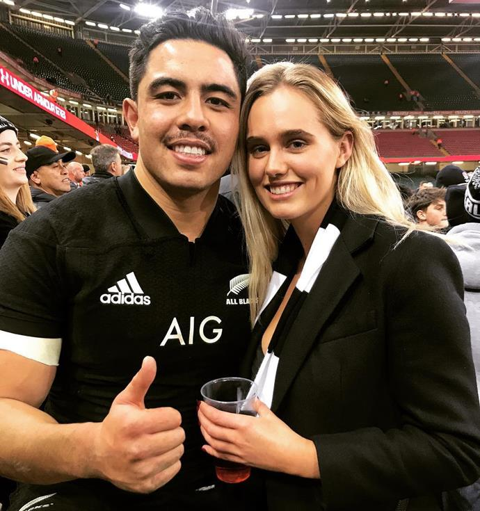 "Isabella Stone is the woman happily supporting Anton Lienert-Brown. Isabella is the daughter of Real Housewives of Auckland star [Angela Stone](https://www.nowtolove.co.nz/health/body/real-housewives-of-aucklands-angela-stones-revenge-body-36767|target=""_blank"").  The pair [have been dating for 18 months](http://spy.nzherald.co.nz/spy-news/ab-dating-real-housewifes-daughter/