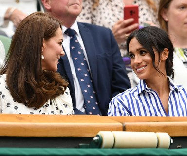Kate Middleton and Meghan Markle hit Wimbledon together and had a marvellous time