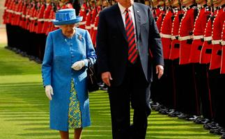 Donald Trump met The Queen and broke three very important royal protocols