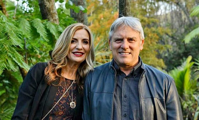 Kerry-Marie and her husband John.