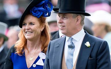 The royal family has welcomed Fergie back into the fold