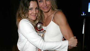 Drew Barrymore and Cameron Diaz share an empowering make-up free selfie