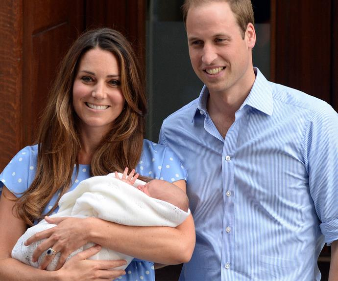 On July 22nd, Prince George Alexander Louis was born at St Mary's Hospital.