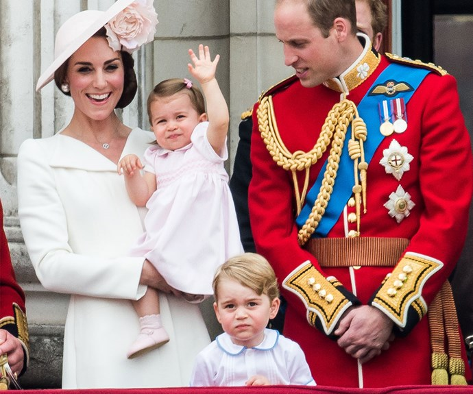 """Looking delighted at [Trooping the Colour 2016](http://www.nowtolove.co.nz/celebrity/royals/trooping-the-colour-2016-23192