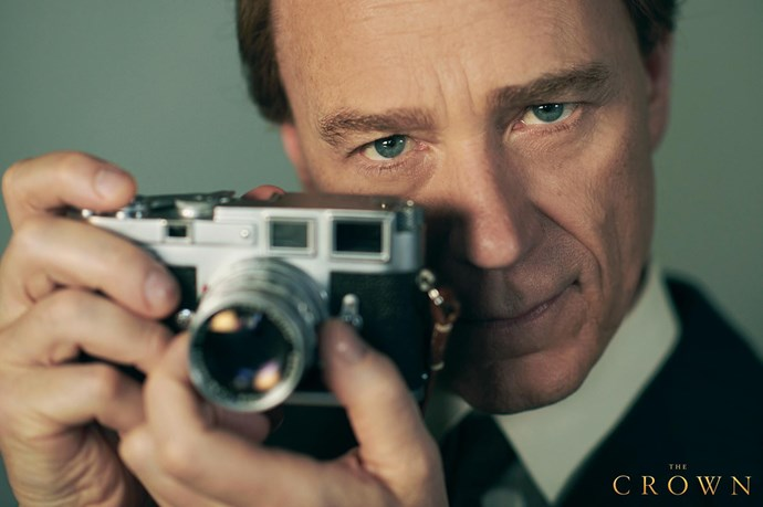Ben Daniels (of *House of Cards* and *The Exorcist* series fame) as Princess Margaret's husband Lord Snowdon.