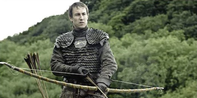 Tobias Menzies, the actor who will play Prince Philip, as Edmure Tully on *Game of Thrones*.