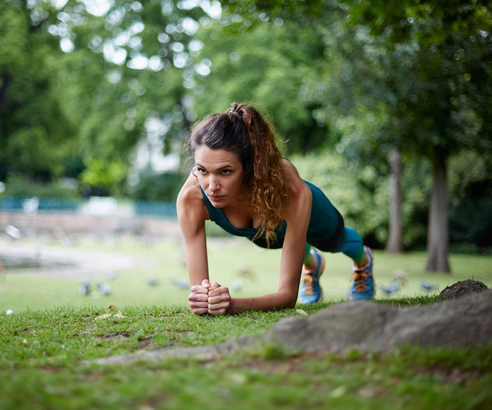 Five minute express workouts for the busy woman