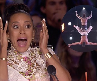 The terrifying moment when a daredevil act went horribly wrong on America's Got Talent