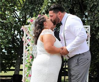 Wedding of the week: Liesel and Hayden Kerr