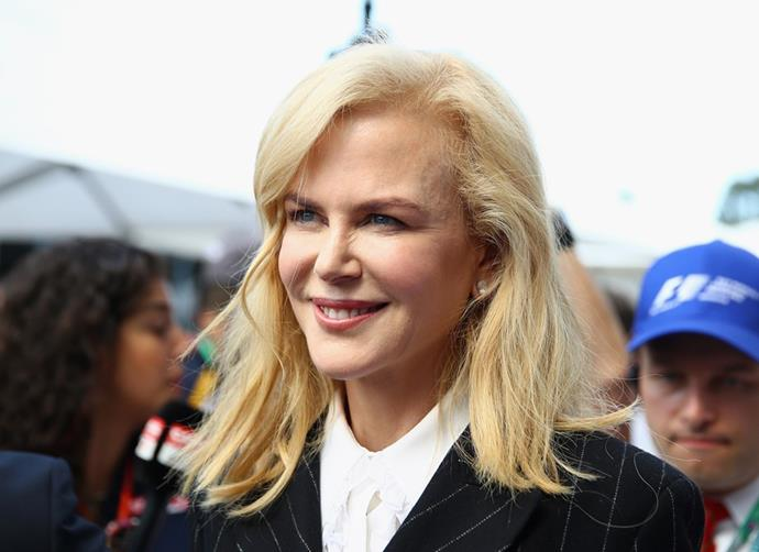 Nicole Kidman makes sure she takes 20 minutes a day to practice Transcendental Meditation