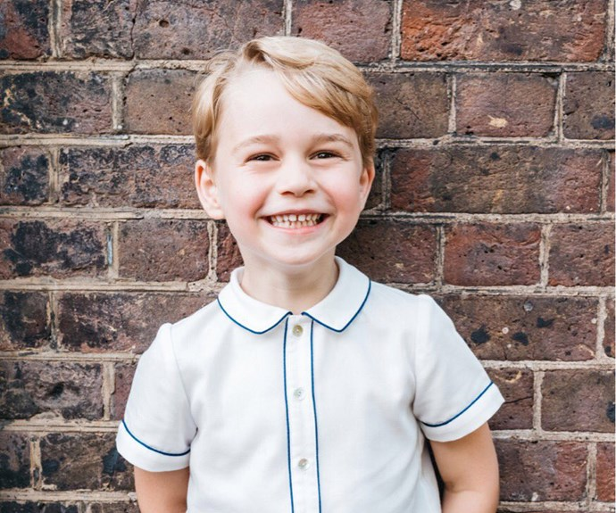 Kensington Palace release new official photo of Prince George on his fifth birthday
