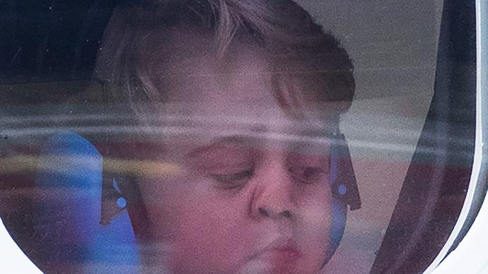 Prince George's best moments looking through windows