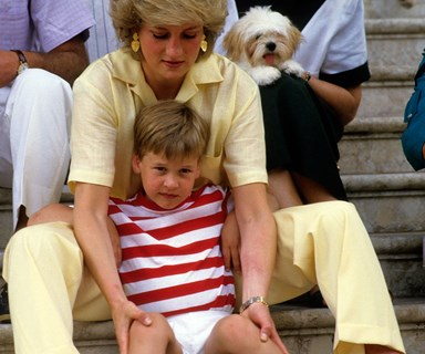 Prince William's moving promise to his mum Princess Diana the year before she died