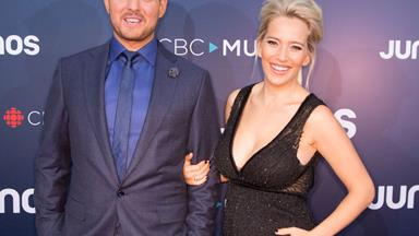 Michael Buble and wife Luisana Lopilato welcome baby no. 3