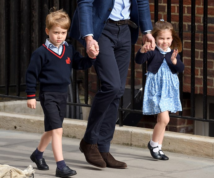When Prince George and Princess Charlotte will have to start bowing to the Queen
