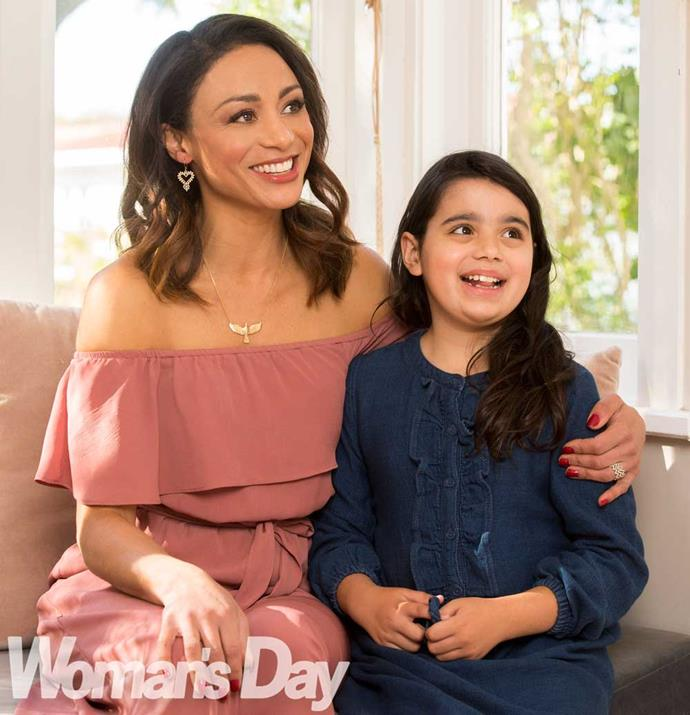 """Inez likes drama and would love to be on TV like her mother because """"it would be fun""""."""