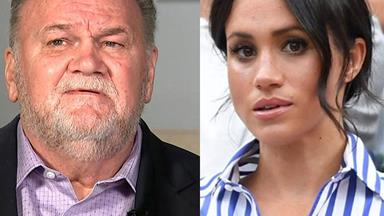 """Thomas Markle has lashed out at Duchess Meghan in a new interview: """"She'd be nothing without me"""""""