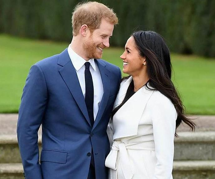 Harry and Meghan were absolutely glowing as they announced their engagement!