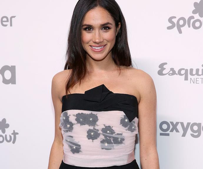 Duchess Meghan often made appearances at fashion shows and premieres.