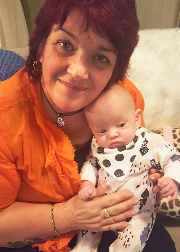 Anna and her miracle granddaughter Amalia.
