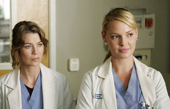 Katherine starred with Ellen Pompeo in the hit drama *Grey's Anatomy*.
