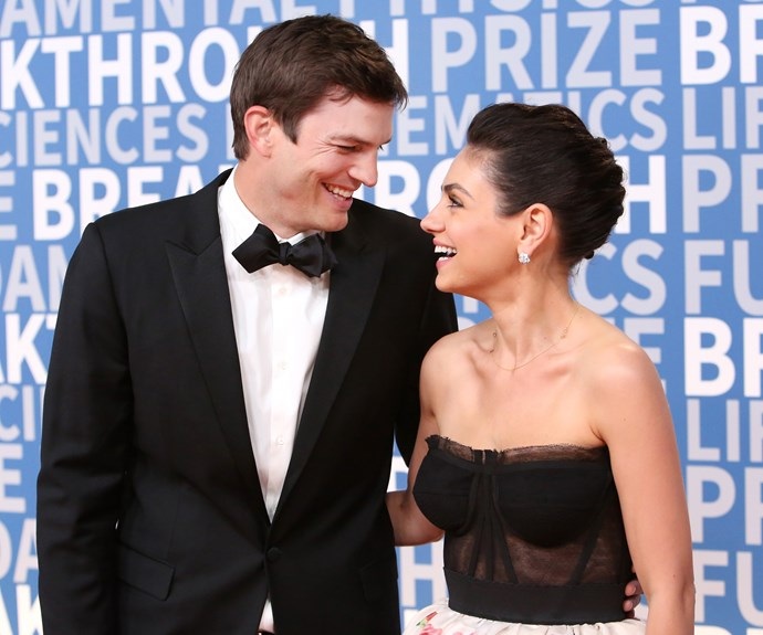 Mila Kunis gives a candid interview about her husband Ashton Kutcher and his ex-wife Demi Moore