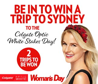 Win a trip to Sydney with Colgate Optic White!