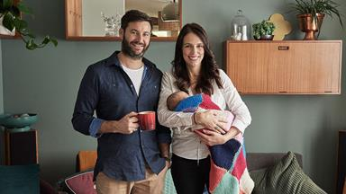 How Jacinda Ardern's first day back at work went - which included the sharing of a poonami story