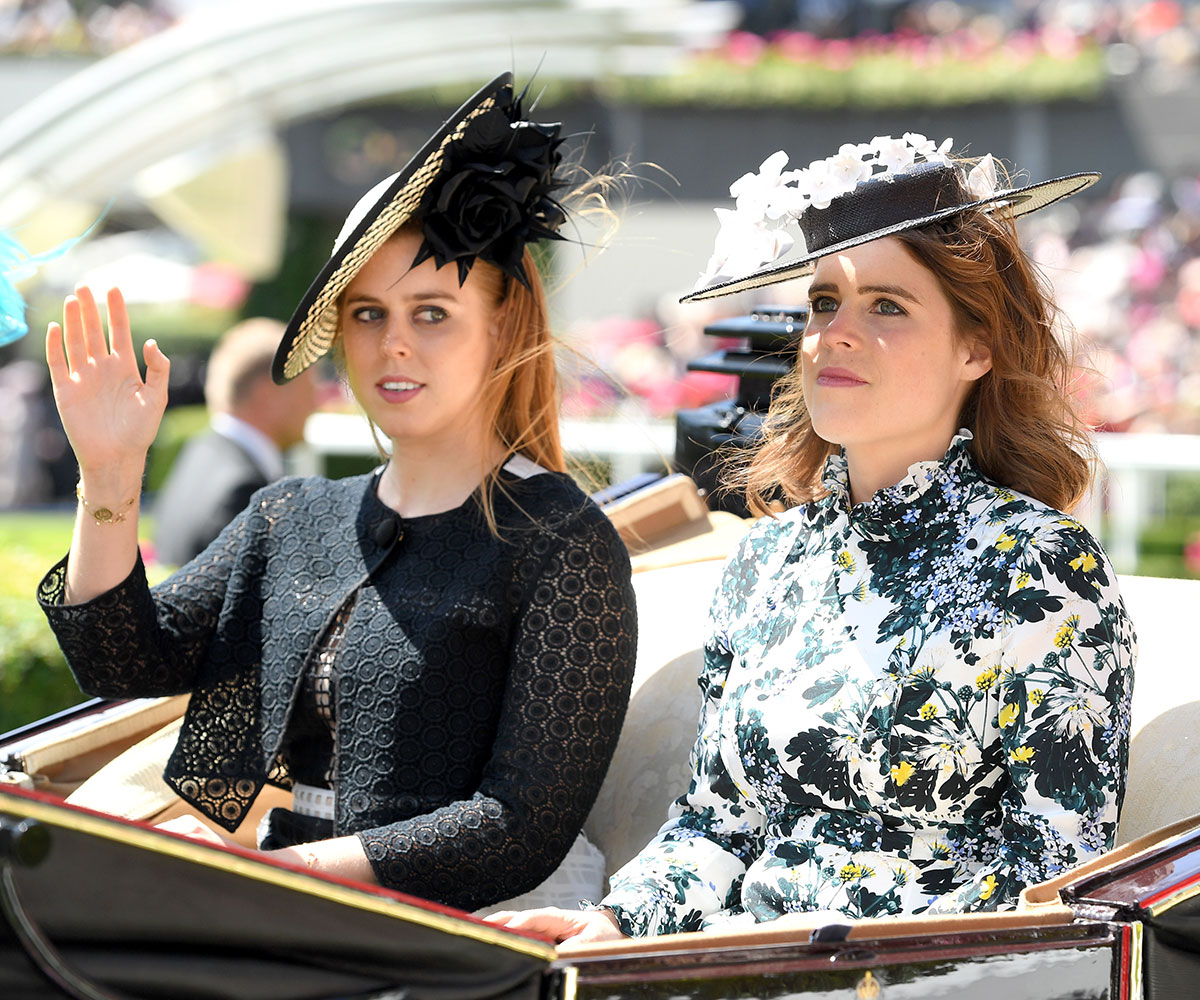Princess Eugenie and Princess Beatrice's 'biggest fight' was over sneakers