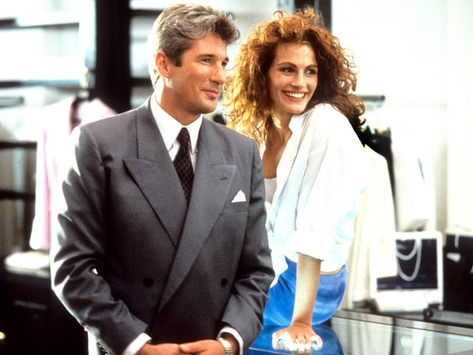 Julia got her big break starring alongside Richard Gere in *Pretty Woman*, which Garry Marshall directed.