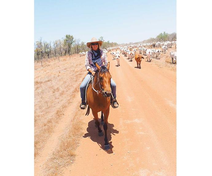 Mairi leapt at the chance to work as a cowgirl in Australia.