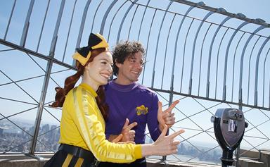 The Wiggles' Emma Watkins and Lachlan Gillies make their first very awkward public appearance since announcing their split