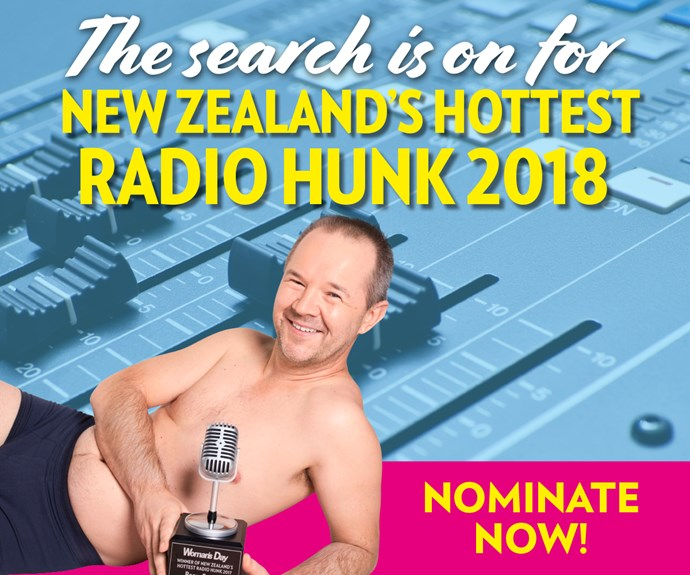 Woman's Day is searching for NZ's Hottest Radio Hunk