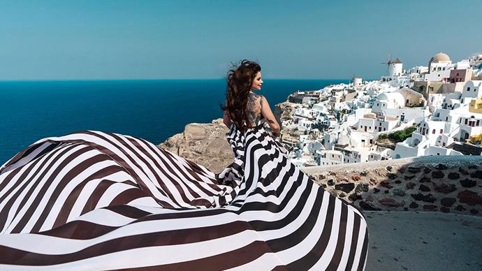 Millie Elder-Holmes opens up about finding happiness and love in Greece