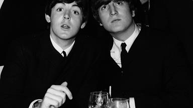 John Lennon and Paul McCartney's sons pose in new selfie and they look just like their famous dads