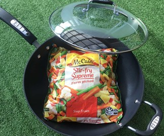 Win a Tefal Wokpan thanks to McCain Stir-fry Supreme