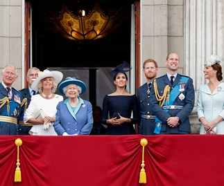 Royal Family Buckingham Palace RAF