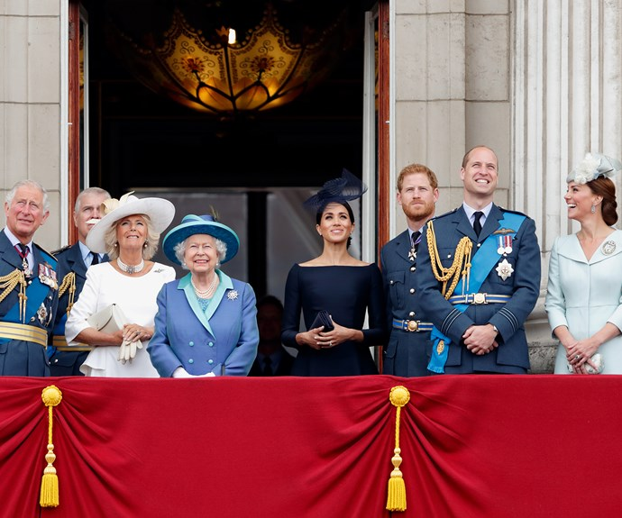 Royal Family Buckingham Palace RAF