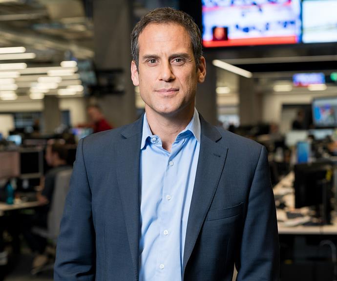 TVNZ presenter Greg Boyed.